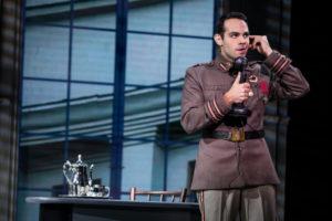 Jason Michael Evans as Gleb in the National Tour of Anastasia
