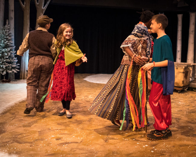 Season of Light: A Winter Fairytale at Silver Spring Stage. Photo by Harvey Levine