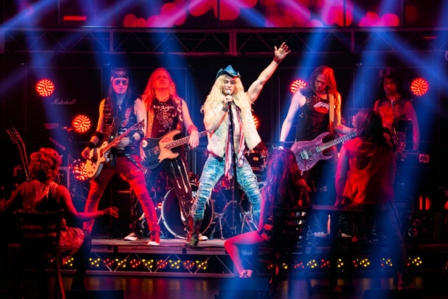 Sam Harvey, ROCK OF AGES National Tour -Photo Jeremy Daniel