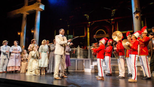 The Cast of The Music Man Photo: Jeremy Daniel