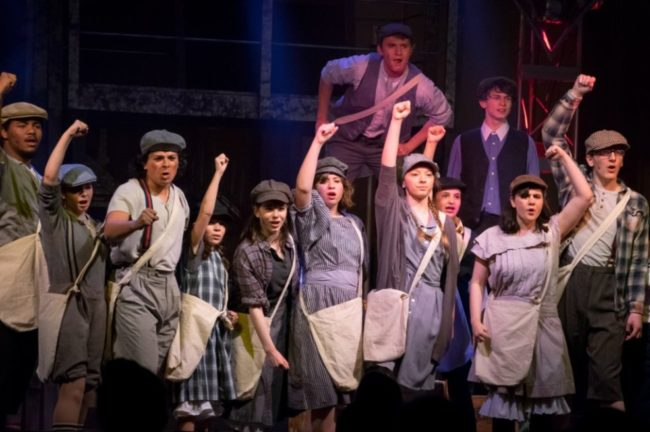Newsies at Third Wall Productions Stasia Steuart Photography