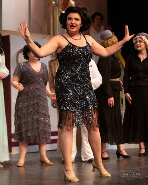 Maddie Bohrer as Bonnie in Anything Goes