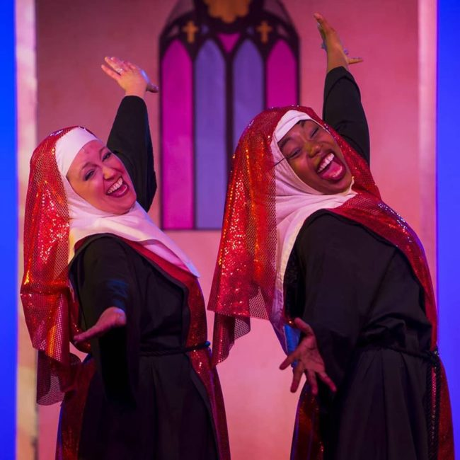 Sister Act at Scottfield Theatre Company. Photo: Scott Serio.