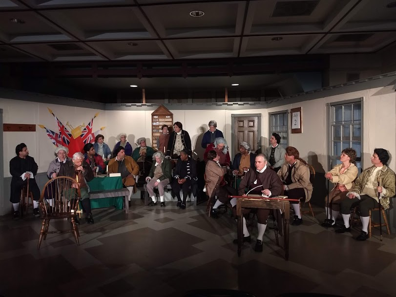 1776 at The Woodbrook Players. Photo: Amanda Gunther