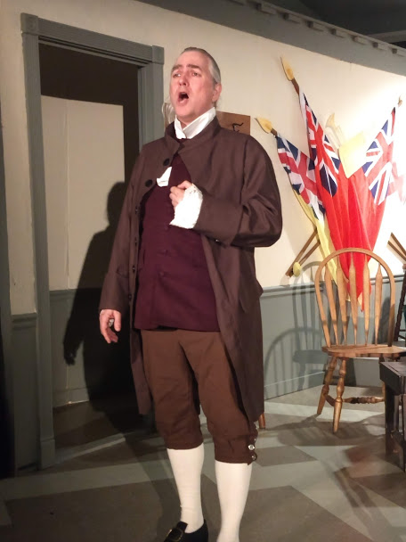 Robert Hitcho as John Addams in 1776. Photo: Amanda Gunther