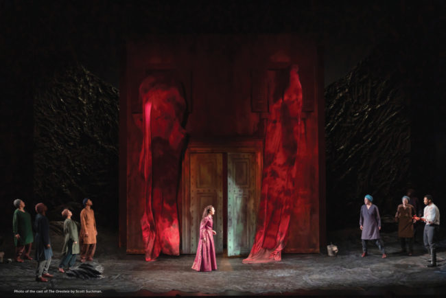 The Oresteia at Shakespeare Theatre Company. Photo: Scott Suchman