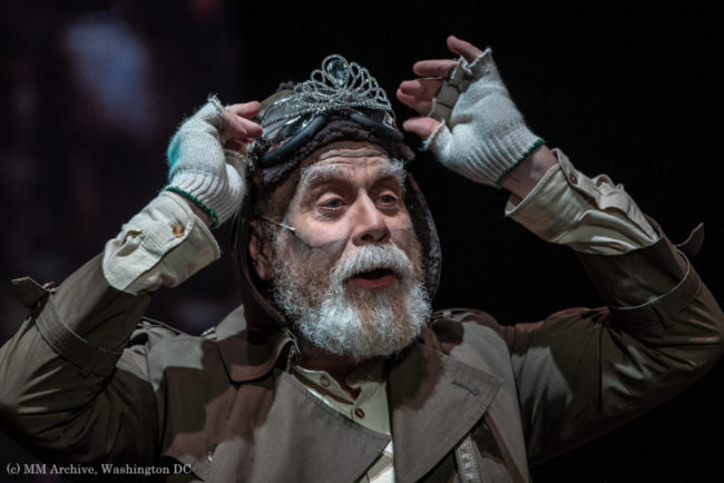Brian Lyons-Burke as Fagin in Oliver! Photo: Mark McLaughlin Photography