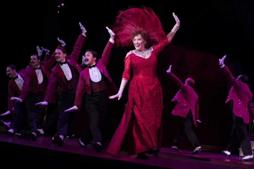 Betty Buckley and the National Touring Company of Hello, Dolly! Photo: Julieta Cervantes