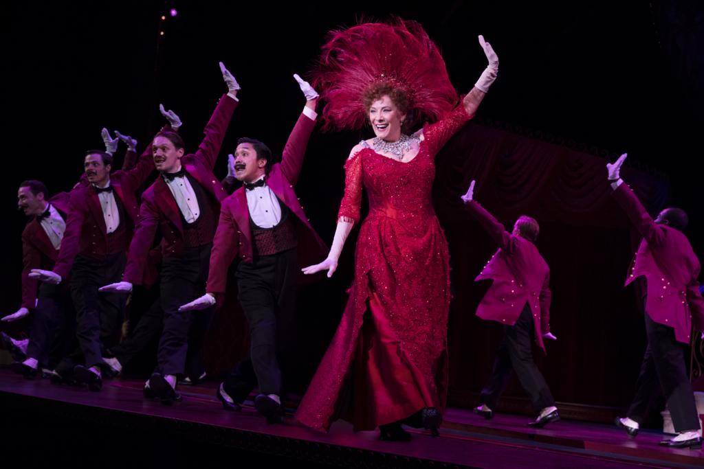 Betty Buckley and the National Touring Company of Hello, Dolly! Photo: Julieta Cervantes