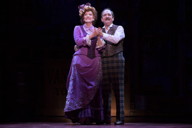 Betty Buckley and Lewis J. Stadlen in the national tour of Hello, Dolly! Photo: Julieta Cervantes