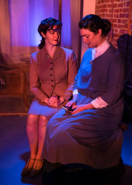 Rebecca Ellis (left) as Ida and Aubri O'Connor (right) as Gwen. Photo: Tony Hitchcock Photography