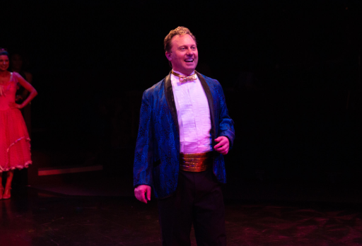 Jeffrey Shankle as Vince Fontaine. Photo: Jeri Tidwell Photography.