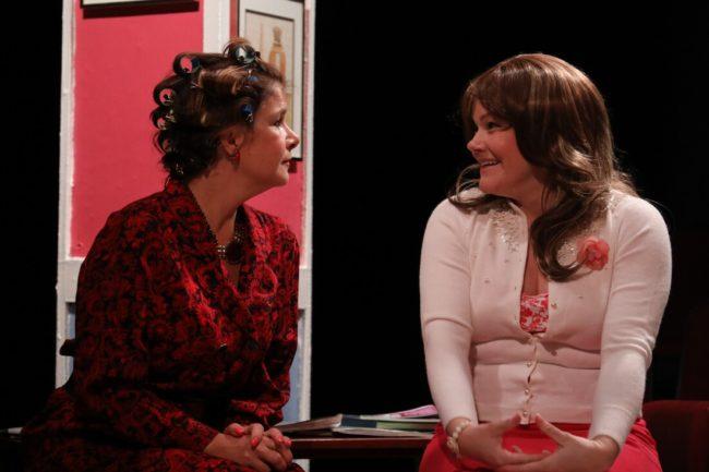 Melanie Bishop (left) as M'Lynn and Karen Starliper (right) as Shelby. Photo: ShealyJaePhotography