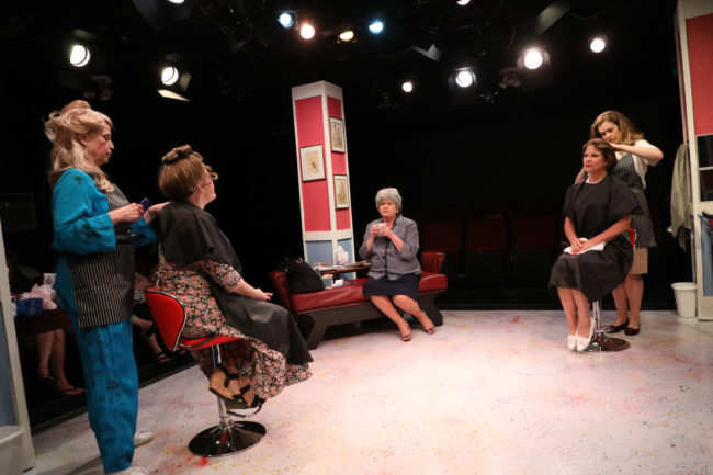 The cast of Steel Magnolias at Spotlighters Theatre. Photo: ShealyJaePhotography