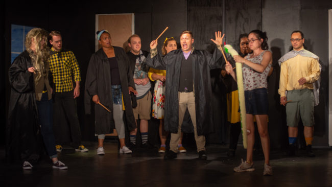 The cast of PUFFS at Artistic Synergy of Baltimore. Photo: Matthew Peterson