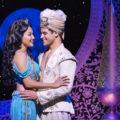 Kaenaonālani Kekoa (left) as Princess Jasmine and Clinton Greenspan (right) as Aladdin in Disney's Aladdin. Photo: Deen van Meer