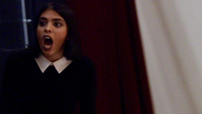 Marcy Ledvinka as Wednesday Addams. Photo: Tom Litllejohn