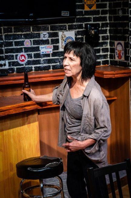 Julie Herber as Tracey in Sweat. Photo: Joe Williams