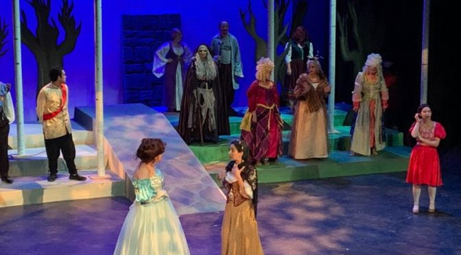 The cast of Into The Woods at Phoenix Festival Theatre