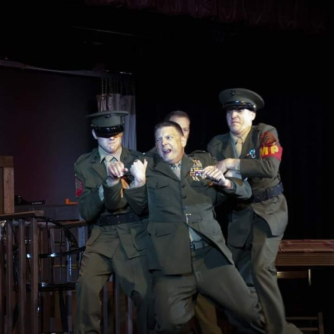 A Few Good Men playing at Tidewater Players