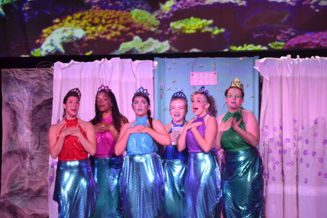The Mersisters of The Little Mermaid at September Song