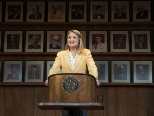 Heidi Schreck in What The Constitution Means to Me. Photo: Joan Marcus