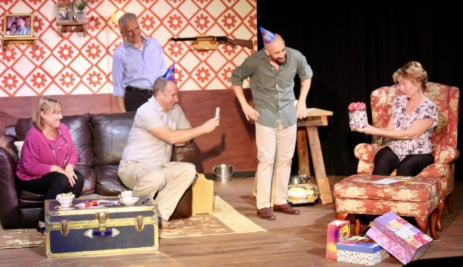 The cast of Helen on Wheels at Best Medicine Rep Theatre. Photo: Mary Roberds