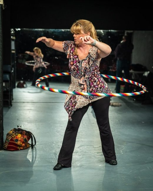 Gené Fouché as Theresa in Circle Mirror Transformation at Maryland Ensemble Theatre. Photo: Joe Williams