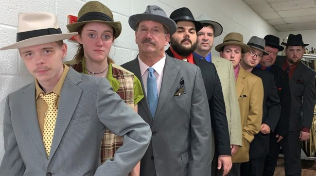 The cast of Artistic Synergy's Guys & Dolls.