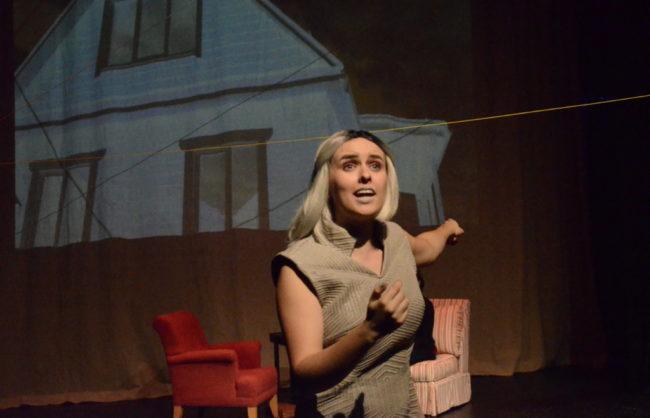 Rose Hahn as Again in Proxy at Rapid Lemon. Photo: Max Garner