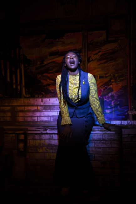 JacQuan Knox as Alice Russell in Lizzie. Photo: Shealyn Jae Photography