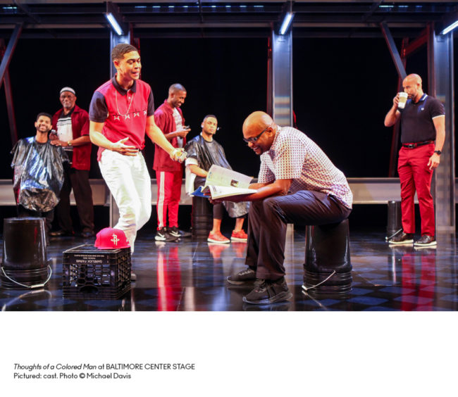Thoughts of a Colored Man at Baltimore Center Stage. Photo: Michael Davis