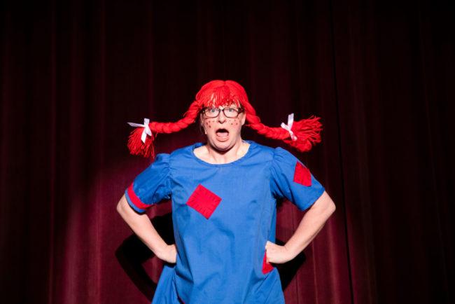Jen Retterer as Louise in Ruthless! Photo: Shealyn Jae Photography