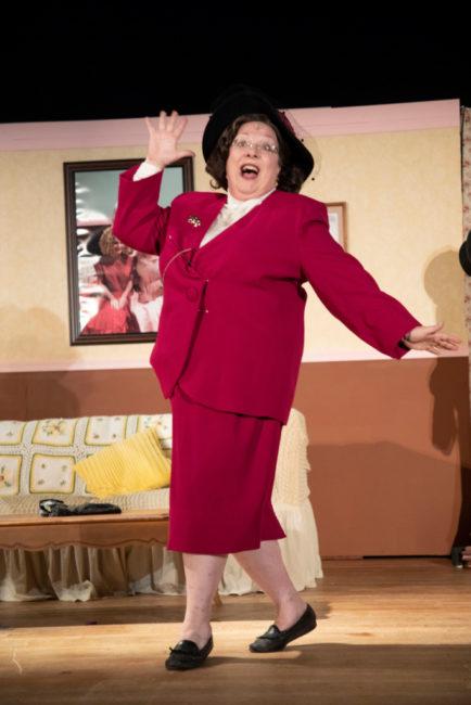 Jennifer Georgia as Lita Encore in Ruthless! Photo: Shealyn Jae Photography