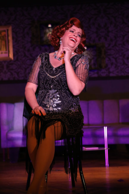 Lisa Pastella as Ginger in Ruthless! Photo: Shealyn Jae Photography