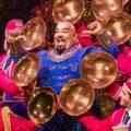 Korie Lee Blossey as The Genie in Aladdin. Photo: Deen van Meer