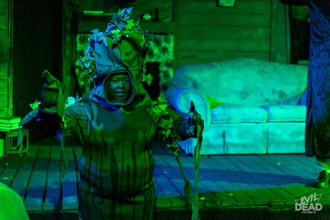 Tigga Smaller as Shemp in Evil Dead: The Musical. Photo: Matthew Peterson