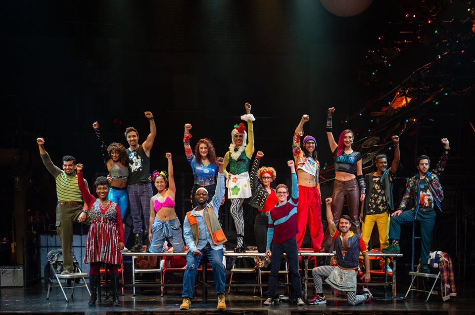 The Company of the RENT 20th Anniversary Tour. Photo: Amy Boyle