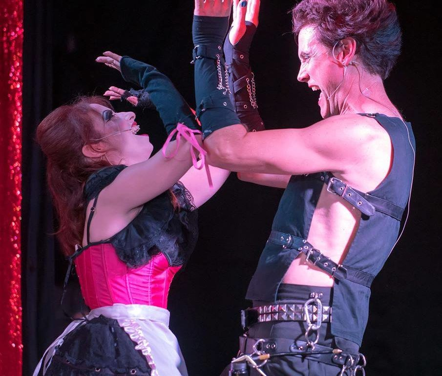 Melanie Kurstin & Jon Townson in Rocky Horror Show