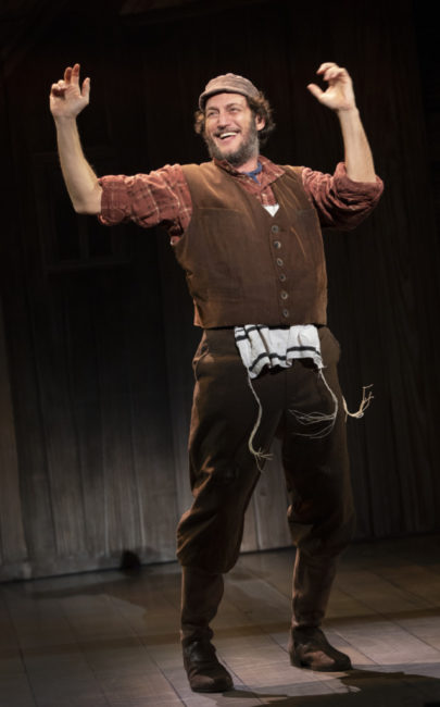 Yehezkel Lazarov as Tevye. Photo: Joan Marcus
