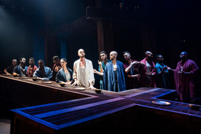 The company of the North American Tour of Jesus Christ Superstar. Photo: Matthew Murphy