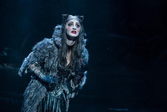 Keri René Fuller as Grizabella in Cats. Photo: Matthew Murphy