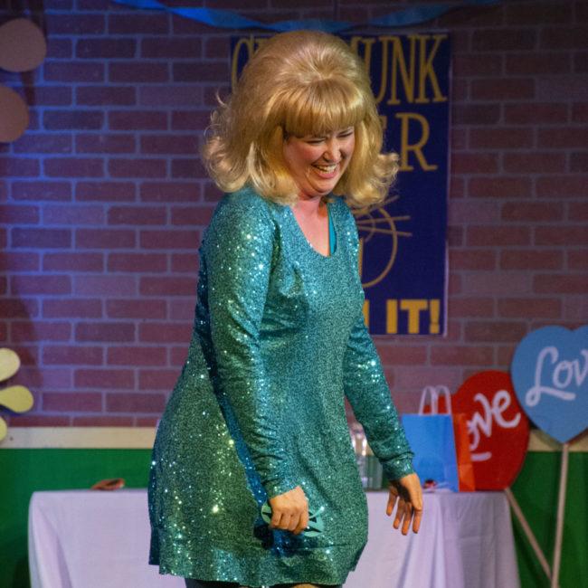 Sarah Elizabeth Sickels as Suzie in The Marvelous Wonderettes: Dream On. Photo: Jason Standish,