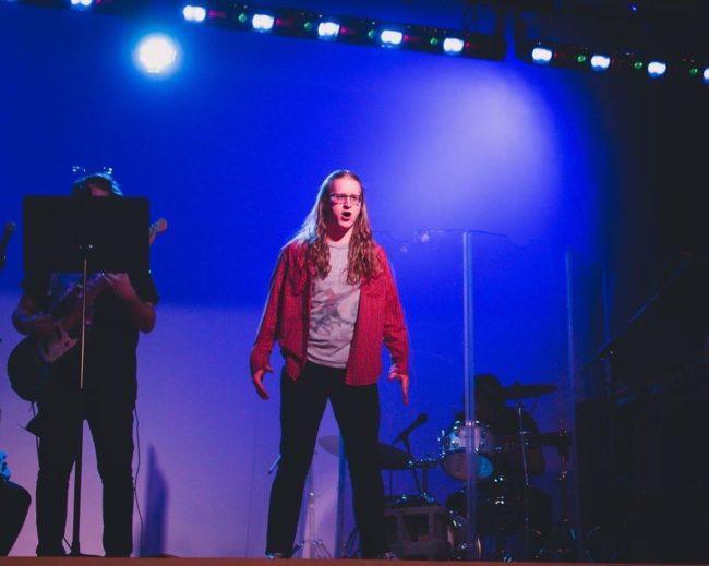 Alyx Greer as Lucas in Loserville. Photo: Stephanie Zacharia Hatmaker