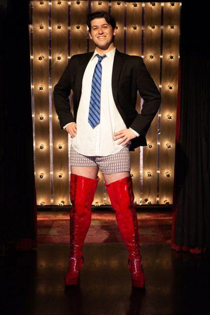 Matt Hirsh as Charlie in Kinky Boots.