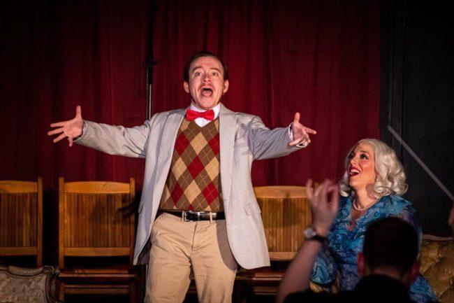 Matt Wetzel as Josephus Gage, The Zipper King in Gentlemen Prefer Blondes. Photo: Stasia Steuart Photography