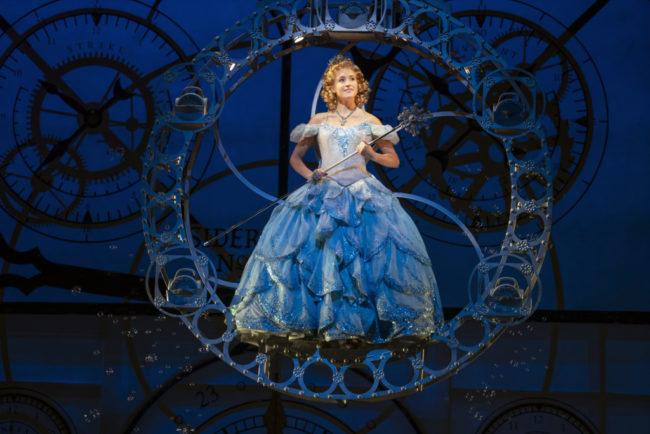 Allison Bailey as Glinda. Photo; Joan Marcus