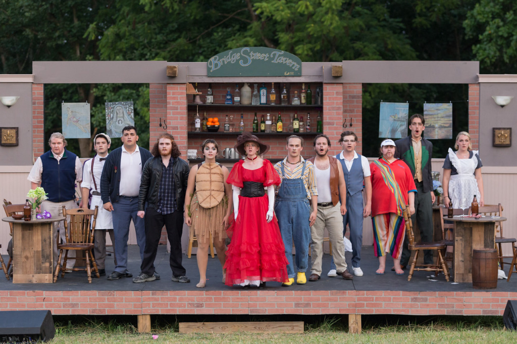 The company of Niagara at Well Played Theater. Photo: Rick Hartwig.